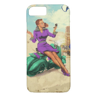 Vintage Italian Girl iPhone 8/7 Case