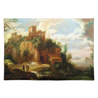 Vintage Italian Landscape Placemat