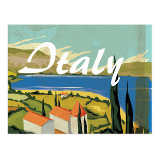 Vintage Italian Poster Postcard