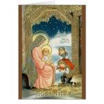 Vintage Italian Religious Christmas Greeting Card