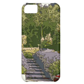 Vintage Italian Rose Garden Case For iPhone 5C