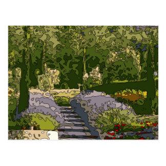 Vintage Italian Rose Garden Post Cards