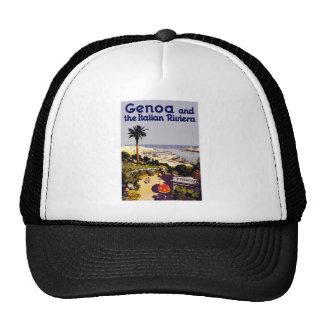 Vintage Italian Tourism Poster Scene Trucker Hat