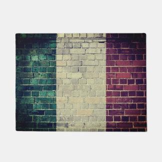 Vintage Italy flag Doormat