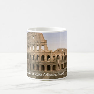 Vintage Italy mug, Coliseum Exterior, Rome Magic Mug