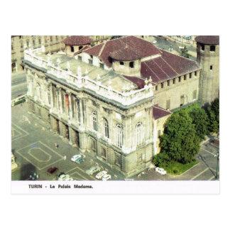 Vintage Italy,  Torino, Palazzo Madama Postcard