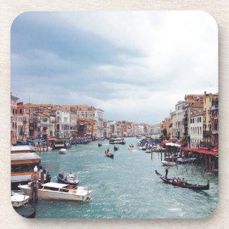 Vintage Italy Venice Canal Photo Coaster