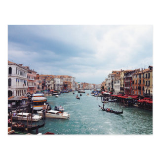 Vintage Italy Venice Canal Photo Postcard