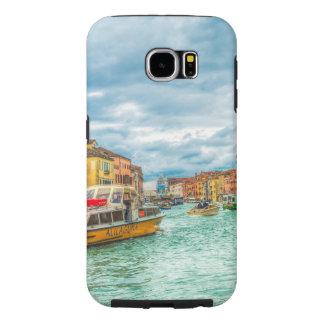Vintage Italy Venice Watercolor Samsung Galaxy S6 Cases
