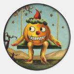 Vintage Jack O Lantern Man stickers