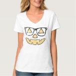 Vintage Jack-O-Lantern With Glasses Halloween Tshirts