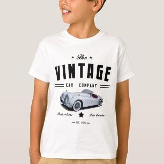 Vintage Jaguar Car Garage T-Shirt