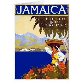 Vintage Jamaica Gem of the Tropics Travel Card