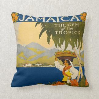 Vintage Jamaica Pillow