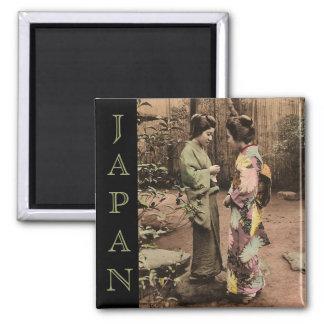 VIntage Japan Square Magnet