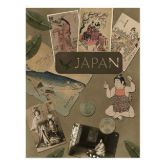 Vintage Japan Travel Postcard
