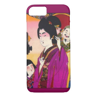 Vintage Japanese Ad for Telephones Iphone Case