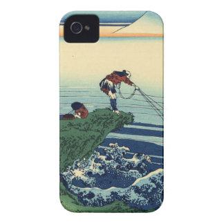 Vintage Japanese Art Kajikazawa Fisherman Case-Mate iPhone 4 Case