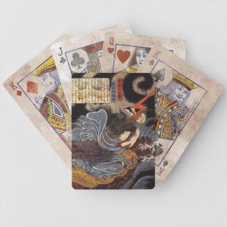 Vintage Japanese Art - Kuniyoshi Bicycle Playing Cards