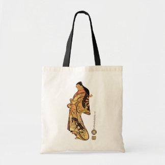 Vintage Japanese Beauty Tote Bag