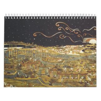 Vintage Japanese Calendar