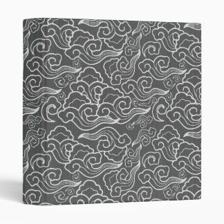 Vintage Japanese Clouds, Graphite Gray / Grey Binders