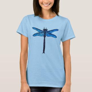 Vintage Japanese Dragonfly, sapphire blue T-Shirt