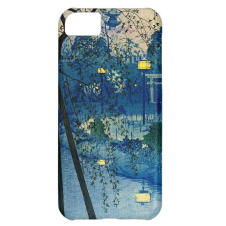 Vintage Japanese Evening in Blue Cover For iPhone 5C