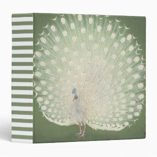 Vintage Japanese Fine Art | Peacock 3 Ring Binders