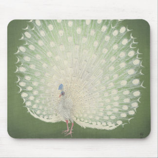 Vintage Japanese Fine Art | Peacock Mouse Pad