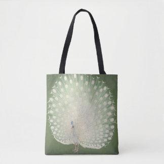 Vintage Japanese Fine Art | Peacock Tote Bag