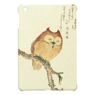 Vintage Japanese Fine Art Print | Owl on a Branch iPad Mini Cases