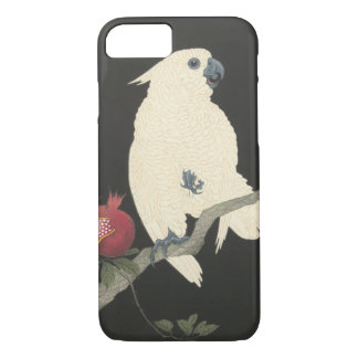 Vintage Japanese Fine Art | White Cockatoo iPhone 8/7 Case