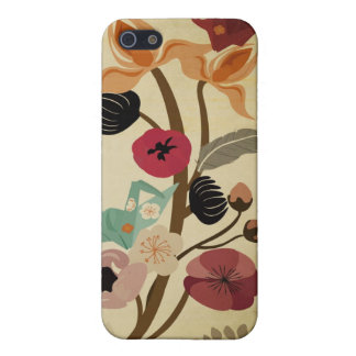 Vintage Japanese flowers Speck Case iPhone 5/5S Cases