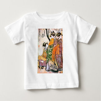 Vintage Japanese Geisha Artwork Baby T-Shirt
