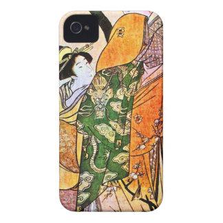 Vintage Japanese Geisha Artwork iPhone 4 Cover