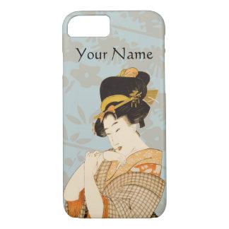Vintage Japanese Geisha Girl Entertainer iPhone 7 Case
