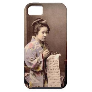 Vintage Japanese Geisha - Letter Writer iPhone 5 Case