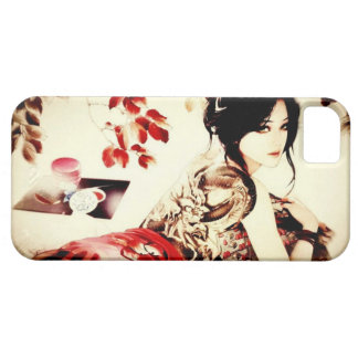 Vintage Japanese Girl Case For The iPhone 5