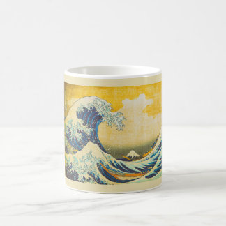 Vintage Japanese Great Wave Art Coffee Mug