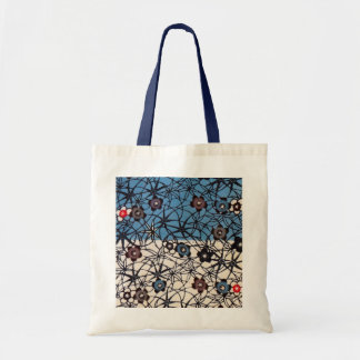 Vintage Japanese Kimono Textile (Bingata) Tote Bag