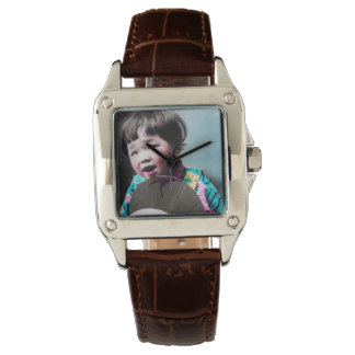 Vintage Japanese Little Girl and Paper Fan Japan Watches