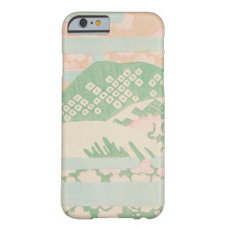 Vintage Japanese Mint Floral Barely There iPhone 6 Case