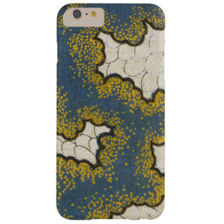 Vintage Japanese Navy Swirl Barely There iPhone 6 Plus Case