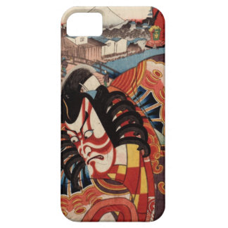 Vintage Japanese Painting - Kabuki Actor iPhone 5 Cases