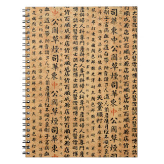 Vintage Japanese Paper Prints Notebooks