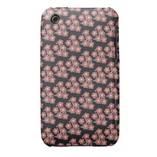 vintage japanese peach spring cherry blossoms iPhone 3 Case-Mate case
