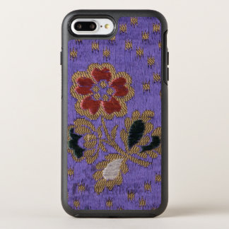 Vintage Japanese Purple Floral Silk Tapestry Art OtterBox Symmetry iPhone 7 Plus Case