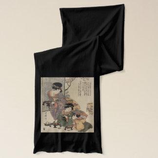 Vintage Japanese scarf