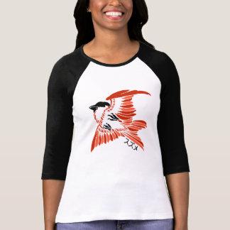 Vintage Japanese Sparrow Design T Shirt